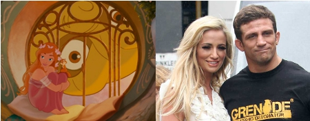 Chantelle houghton, Alex Reid, Enchanted, Troll, giselle